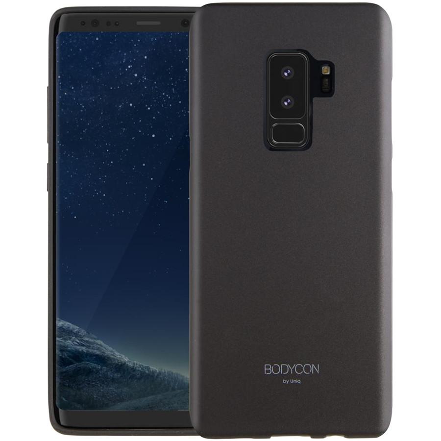 Чехол Uniq Bodycon для Samsung Galaxy S9 Plus чёрныйЧехлы для Samsung Galaxy S9/S9 Plus<br>Чехол Uniq Bodycon отличное решение для стильных минималистов.<br><br>Цвет: Чёрный<br>Материал: Поликарбонат