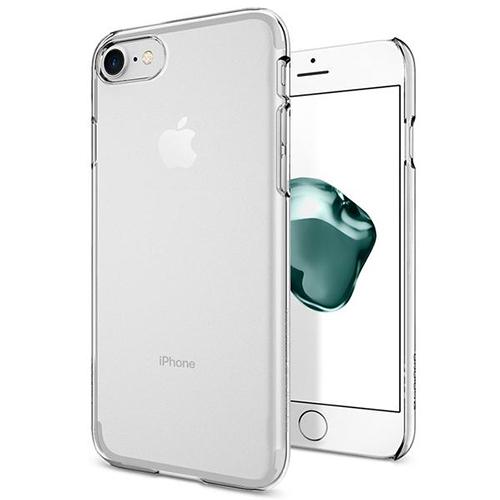 Чехол Spigen Thin Fit для iPhone 7 (Айфон 7) кристально-прозрачный (SGP-042CS20934)Чехлы для iPhone 7<br>Ультратонкий и невероятно лёгкий, словно пёрышко, чехол Spigen Thin Fit практически не прибавит объёма и веса мощному смартфону.<br><br>Цвет товара: Прозрачный<br>Материал: Поликарбонат