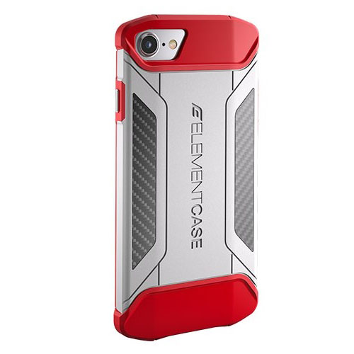 Чехол Element Case CFX для iPhone 7 красный/белыйЧехлы для iPhone 7<br>Element Case CFX White/Red for iPhone 7 EMT-322-131DZ-12<br><br>Цвет товара: Красный