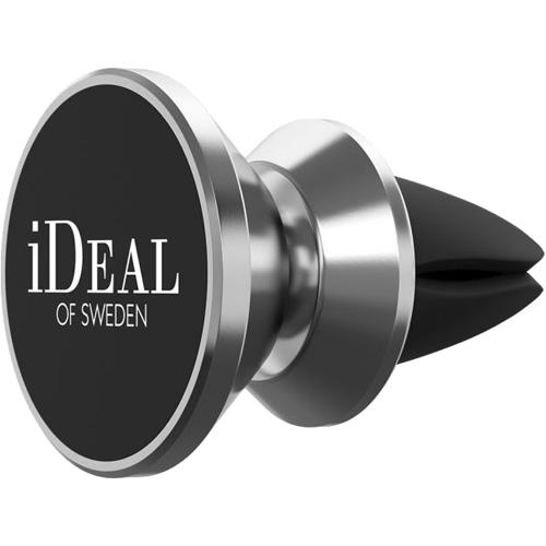 Автомобильный держатель iDeal Car Vent Mount серебристыйАвтодержатели<br>Благодаря держателю iDeal Car Vent Mount смартфон будет всегда в быстром доступе для того, чтобы вводить текст, корректировать маршрут навигатора и...<br><br>Цвет: Серебристый<br>Материал: Пластик, металл, силикон