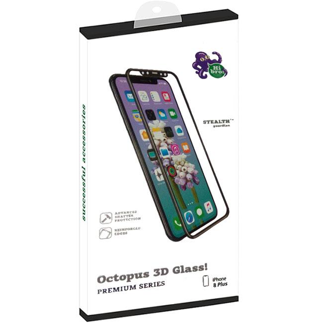 Защитное стекло HiBro! Armored 3D Glass для iPhone 8 Plus чёрноеСтекла/Пленки на смартфоны<br>HiBro! Armored 3D Glass убережёт экран смартфона от неприятностей!<br><br>Цвет: Чёрный<br>Материал: Стекло<br>Модификация: iPhone 5.5