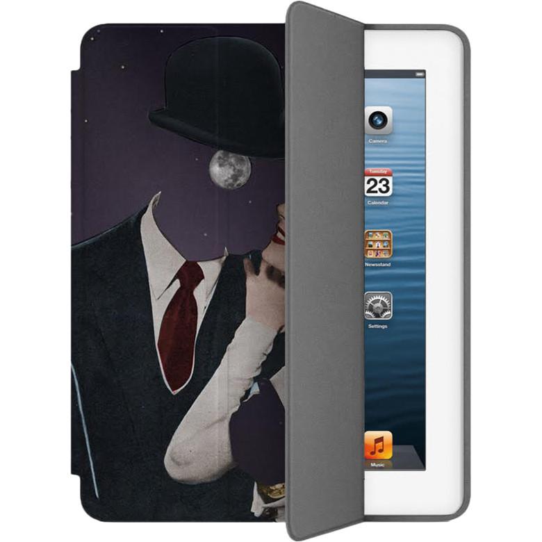 Чехол Muse Smart Case для iPad 2/3/4 Девушка и ЛунаЧехлы для iPad 1/2/3/4<br>Чехлы Muse — это индивидуальность, насыщенность красок, ультрасовременные принты и надёжность.<br><br>Цвет: Чёрный<br>Материал: Эко-кожа, поликарбонат