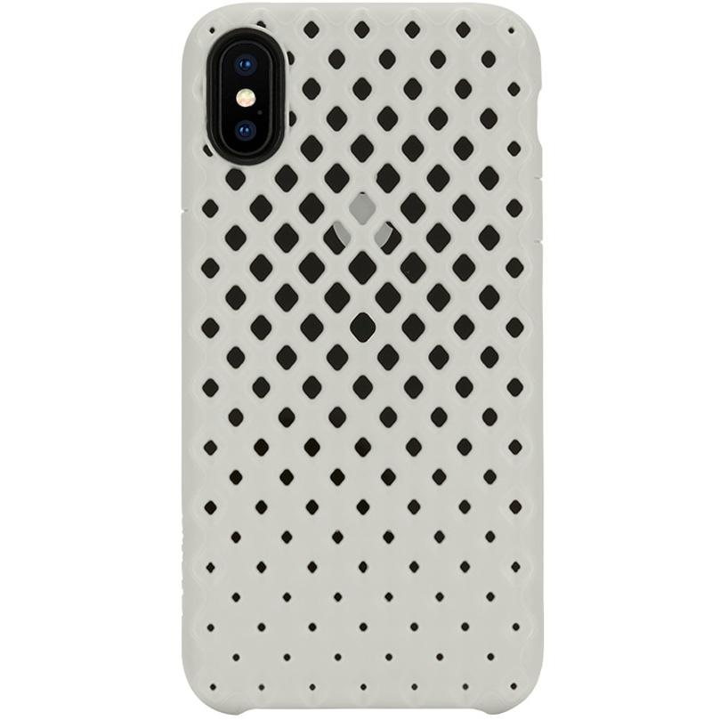 Чехол Incase Lite Case для iPhone X белыйЧехлы для iPhone X<br><br><br>Цвет товара: Белый<br>Материал: Поликарбонат, термопластичный полиуретан