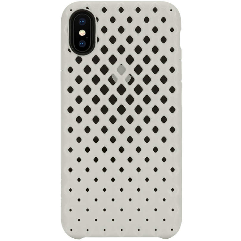 Чехол Incase Lite Case для iPhone X белыйЧехлы для iPhone X<br><br><br>Цвет: Белый<br>Материал: Поликарбонат, термопластичный полиуретан