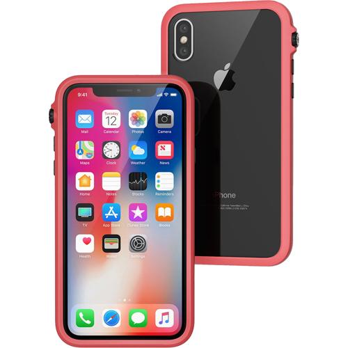Чехол Catalyst Impact Protection Case для iPhone X красныйЧехлы для iPhone X<br>Catalyst Impact Protection Case сочетает в себе высокую степень защиты и идеальную посадку на вашем iPhone X.<br><br>Цвет товара: Красный<br>Материал: Поликарбонат, полиуретан, резина