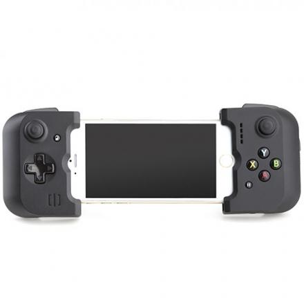 Джойстик Gamevice Controller GV156 для iPhone 6/6s Plus/7/7S PlusДжойстики для смартфонов<br>Джойстик Gamevice Controller GV156 для iPhone 6/6s/6 Plus/6s Plus<br><br>Цвет товара: Чёрный<br>Материал: Пластик, металл
