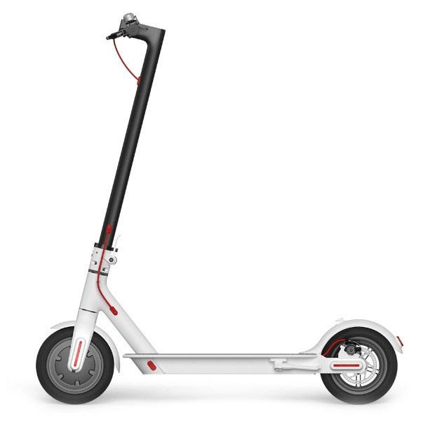 Электросамокат Xiaomi MiJia Smart Electric Scooter белыйСамокаты<br>MiJia Smart Electric Scooter - это стильный и мощный электросамокат!<br><br>Цвет товара: Белый<br>Материал: Алюминий, пластик