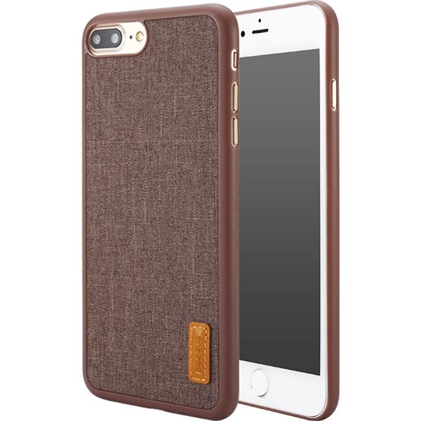 Чехол Baseus Grain Case Sunie Series Ultra Slim для iPhone 7 Plus коричневыйЧехлы для iPhone 7 Plus<br>Тонкий чехол Baseus Grain Case Sunie Series Ultra Slim выглядит элегантно и в тоже время молодёжно, что не может не привлечь внимания.<br><br>Цвет товара: Коричневый<br>Материал: Термопластичный полиуретан, текстиль
