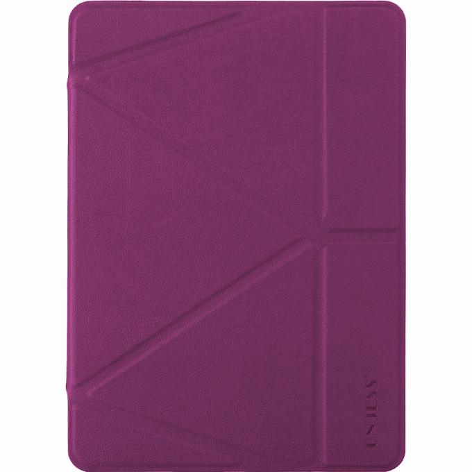 Чехол Onjess Folding Style Smart Stand Cover для iPad Pro10.5 фиолетовыйЧехлы для iPad Pro 10.5<br>Чехол Onjess Folding Style Smart Stand Cover для iPad выполнен в тонком, изящном дизайне, который буквально притягивает к себе внимание.<br><br>Цвет: Фиолетовый<br>Материал: Искусственная кожа, силикон