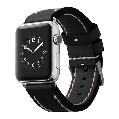 Ремешок Cozistyle Leather Band для Apple Watch 42мм чёрныйРемешки для Apple Watch<br>Cozistyle Leather Band - это стильный ремешок для умных часов Apple Watch 42мм.<br><br>Цвет товара: Чёрный