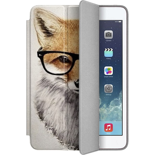 Чехол Muse Smart Case для iPad 2/3/4 ЛисаЧехлы для iPad 1/2/3/4 (2010-2013)<br>Чехлы Muse — это индивидуальность, насыщенность красок, ультрасовременные принты и надёжность.<br><br>Цвет товара: Разноцветный<br>Материал: Поликарбонат, полиуретановая кожа