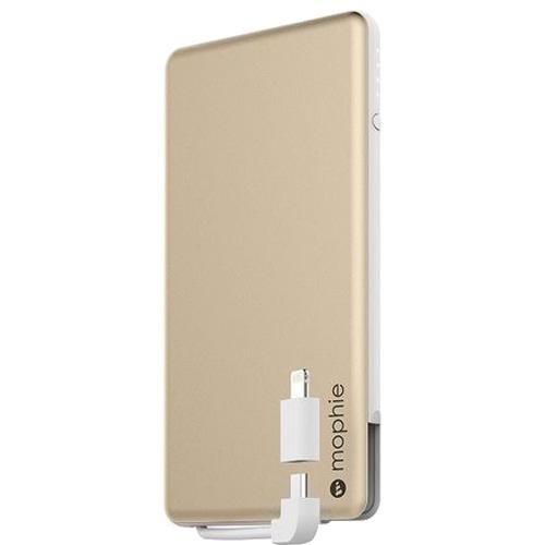 Внешний аккумулятор Mophie Powerstation Plus Mini 4000 мАч золотойВнешние аккумуляторы<br>На сегодняшний день Powerstation Plus Mini является одной из самых компактных и мощных внешних батарей когда-либо созданных Mophie.<br><br>Цвет товара: Золотой<br>Материал: Алюминий, пластик