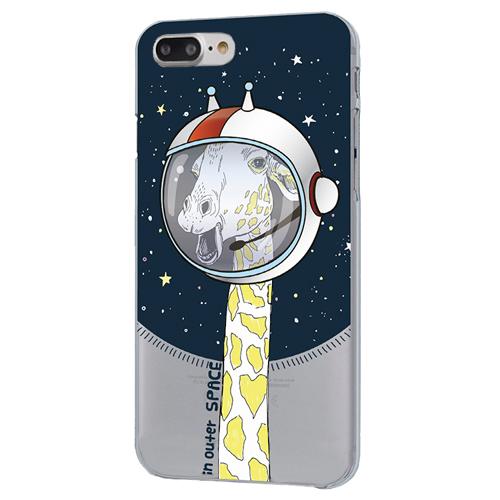 Чехол iPapai для iPhone 7 Plus «Космос» (Жираф)Чехлы для iPhone 7/7 Plus<br>Креативный силиконовый чехол iPapai с уникальным дизайнерским принтом для iPhone 7 Plus.<br><br>Цвет товара: Разноцветный<br>Материал: Силикон