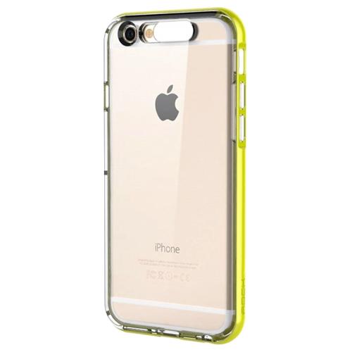 Чехол Rock Light Tube Series для iPhone 6 (4,7) зелёныйЧехлы для iPhone 6/6s<br>Чехол ROCK для iPhone 6 Light Tube Case GREEN<br><br>Цвет товара: Зелёный<br>Материал: Полиуретан, поликарбонат