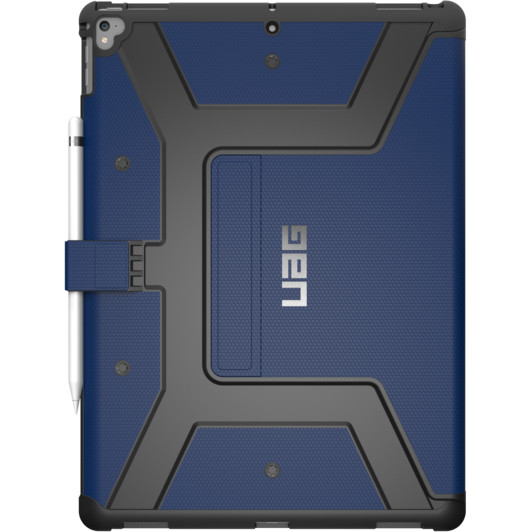 Чехол UAG Metropolis Case для iPad Pro 12.9 (2017) синий CobaltЧехлы для iPad Pro 12.9<br>UAG Metropolis Case обладает всеми современными и необходимыми функциями.<br><br>Цвет товара: Синий<br>Материал: Композитный пластик, силикон