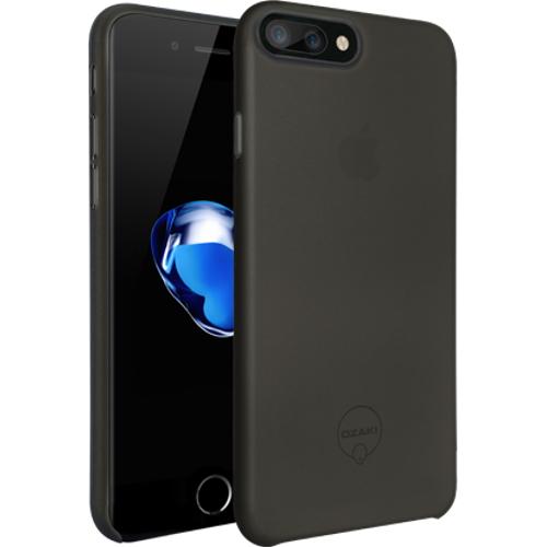 Чехол Ozaki O!coat 0.4 Jelly для iPhone 7 Plus (Айфон 7 Плюс) чёрныйЧехлы для iPhone 7/7 Plus<br>Чехол Ozaki O!coat 0.4 Jelly для iPhone 7 Plus (Айфон 7 Плюс) чёрный<br><br>Цвет товара: Чёрный<br>Материал: Поликарбонат
