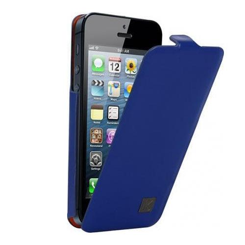 Чехол Kenzo Chick Flip для iPhone 5/5S/SE синийЧехлы для iPhone 5/5S/SE<br>Чехол KENZO для iPhone 5/5s Chick Flip Blue<br><br>Цвет товара: Синий<br>Материал: Полиуретановая кожа, пластик