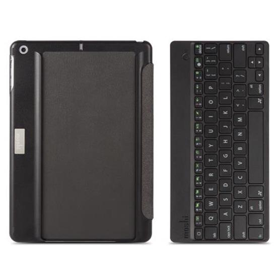 Чехол Moshi VersaKeyboard для iPad (2017) чёрныйБеспроводные клавиатуры<br>Moshi VersaKeyboard сочетает в себе Bluetooth-клавиатуру и чехол VersaCover от Moshi.<br><br>Цвет товара: Чёрный<br>Материал: Поликарбонат, силикон