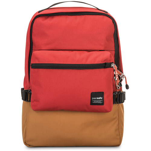 Рюкзак Pacsafe Slingsafe LX350 красныйРюкзаки<br>Pacsafe Slingsafe LX350 представляет собой городской противоугонный рюкзак, в котором вы сможете уверенно и комфортно передвигаться по городу.<br><br>Цвет товара: Красный<br>Материал: Текстиль, нержавеющая сталь, пластик