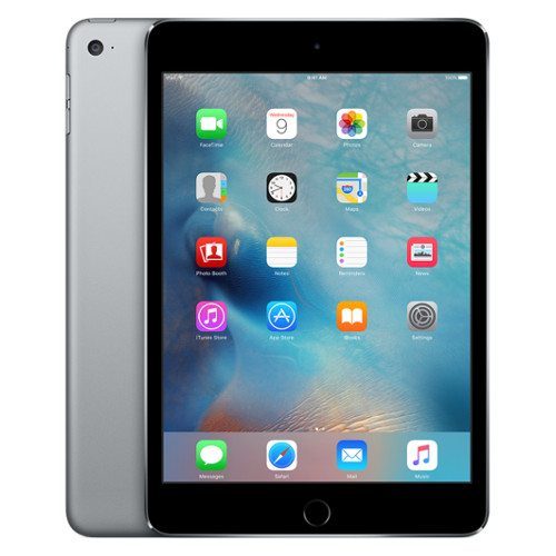 Apple iPad mini 4 128 Гб Wi-Fi серый космосiPad mini 4<br>Apple iPad mini 4 128 Гб Wi-Fi серый космос<br><br>Цвет товара: Серый космос<br>Материал: Металл, пластик<br>Цвета корпуса: серый<br>Модификация: 128 Гб