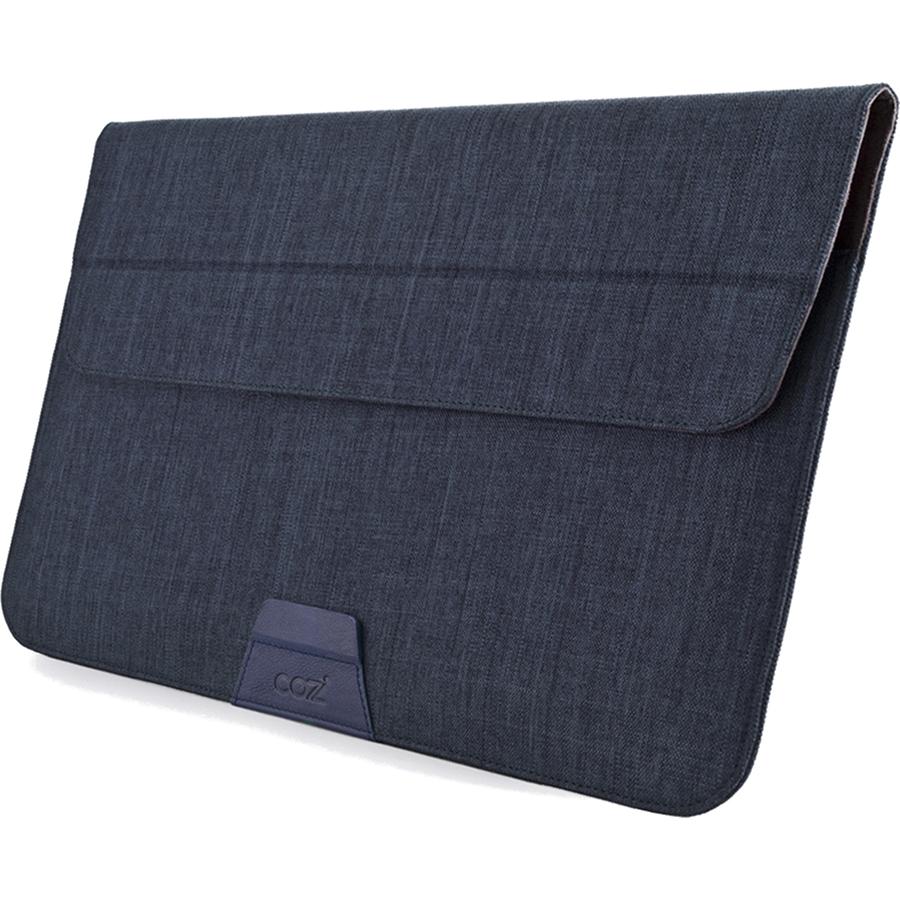 Чехол Cozistyle Stand Sleeve для MacBook 13 синий (CPSS1302)Чехлы для MacBook Air 13<br>Cozistyle Stand Sleeve для MacBook — это современный дизайн, красивая форма, элегантность и многофункциональность.<br><br>Цвет товара: Синий<br>Материал: Полиэстер, микрофибра