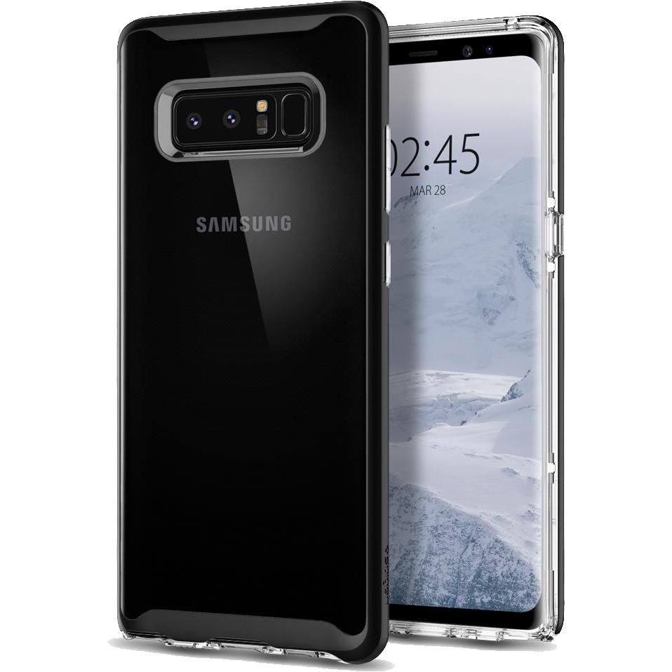 Чехол Spigen Neo Hybrid Crystal для Samsung Galaxy Note 8 чёрный (587CS22091)Чехлы для Samsung Galaxy Note<br>Spigen Neo Hybrid Crystal — прозрачная защита, созданная исключительно для Samsung Galaxy Note 8.<br><br>Цвет товара: Чёрный<br>Материал: Термопластичный полиуретан, поликарбонат