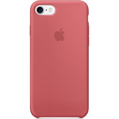 Силиконовый чехол Apple Case для iPhone 7 (Айфон 7) CamelliaЧехлы для iPhone 7<br>Высококачественный силиконовый чехол Apple Case для Вашего iPhone 7!<br><br>Цвет товара: Розовый<br>Материал: Силикон