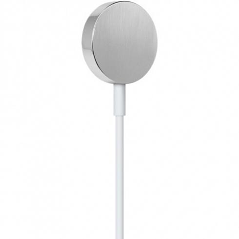 Кабель для зарядки Apple Watch Magnetic Charging Cable (1 метр) белыйКабели Apple Watch<br>С Magnetic Charging Cable вы сможете поставить часы на зарядку даже в темноте!<br><br>Цвет товара: Белый<br>Материал: Пластик, металл<br>Модификация: M