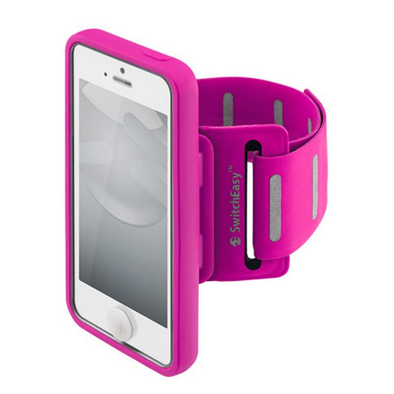 Чехол SwitchEasy MOVE для iPhone 5/5S/SE розовыйЧехлы для iPhone 5/5S/SE<br>Чехол SwitchEasy MOVE для iPhone 5/5s Purple<br><br>Цвет: Розовый<br>Материал: Полиуретан