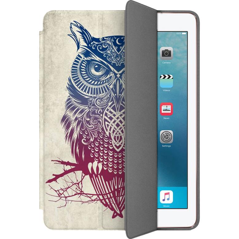Чехол Muse Smart Case для iPad Pro (10.5) СоваЧехлы для iPad Pro 10.5<br>Чехлы Muse Smart Case — это индивидуальность, насыщенность красок, оригинальные принты и надёжная защита от повреждений.<br><br>Цвет товара: Белый<br>Материал: Поликарбонат, полиуретановая кожа
