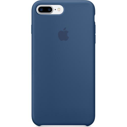 Силиконовый чехол Apple Case для iPhone 7 Plus (Айфон 7 Плюс) глубокий синийЧехлы для iPhone 7/7 Plus<br>Силиконовый чехол Apple Case для iPhone 7 Plus (Айфон 7 Плюс) синий океан<br><br>Цвет товара: Синий<br>Материал: Силикон