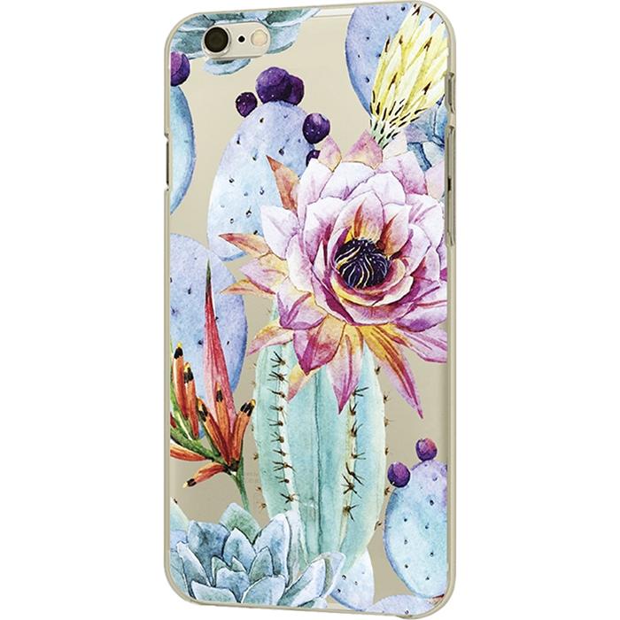 Чехол iPapai для iPhone 7 «Флора» (Цветущий кактус)Чехлы для iPhone 7<br>Креативный силиконовый чехол iPapai с уникальным дизайнерским принтом для iPhone 7.<br><br>Цвет товара: Разноцветный<br>Материал: Силикон