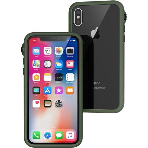 Чехол Catalyst Impact Protection Case для iPhone X зелёныйЧехлы для iPhone X<br>Catalyst Impact Protection Case сочетает в себе высокую степень защиты и идеальную посадку на вашем iPhone X.<br><br>Цвет товара: Зелёный<br>Материал: Поликарбонат, полиуретан, резина