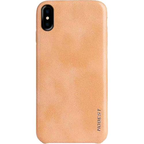Чехол Mobest Elite Series для iPhone X бежевыйЧехлы для iPhone X<br>Mobest Elite Series — изысканный и высококачественный чехол, изготовленный из «дышащей» полиуретановой кожи (экокожи).<br><br>Цвет товара: Бежевый<br>Материал: Экокожа, пластик