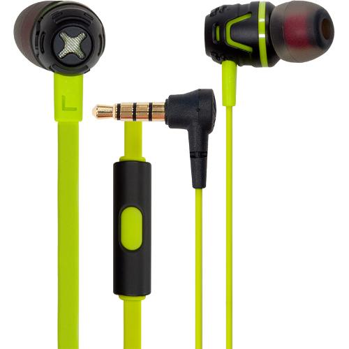 Наушники с микрофоном Cresyn C450S зелёныеВнутриканальные наушники<br>Наушники Cresyn C450S Green<br><br>Цвет товара: Зелёный<br>Материал: Пластик, силикон
