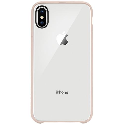 Чехол Incase Pop Case для iPhone X прозрачный/розовое золотоЧехлы для iPhone X<br>Incase Pop Case — один из самых тонких, надёжных и привлекательных чехлов для вашего любимого iPhone X!<br><br>Цвет товара: Розовое золото<br>Материал: Поликарбонат, термопластичный полиуретан