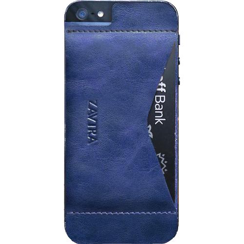Чехол-кошелёк ZAVTRA для iPhone 5/5s/SE темно-синийЧехлы для iPhone 5s/SE<br>Чехол-кошелёк ZAVTRA для iPhone 5/5s/SE темно-синий<br><br>Цвет товара: Синий<br>Материал: Натуральная кожа, пластик