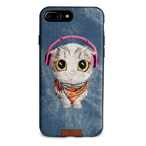 Чехол Nimmy Pet Denim для iPhone 7 Plus Котёнок