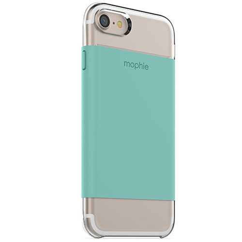 Чехол Mophie Base Case Wrap для iPhone 7 (Айфон 7) мятныйЧехлы для iPhone 7<br>Чехол Mophie Base Case Wrap  для iPhone 7 - бирюзовый<br><br>Цвет товара: Зелёный