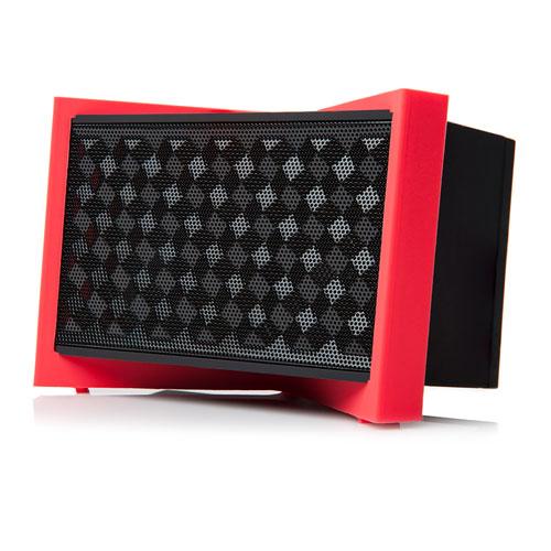 Портативная Bluetooth акустика  TYLT Tunz Черная / Синяя / КраснаяКолонки и акустика<br>Беспроводная аудиосистема Tylt TUNZ черная<br><br>Цвет товара: Чёрный<br>Материал: Пластик, силикон
