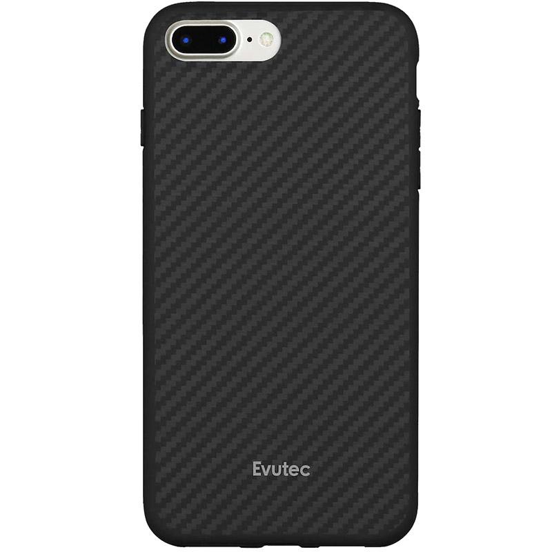 Чехол Evutec AER для iPhone 7 Plus (Айфон 7 Плюс) чёрный карбон
