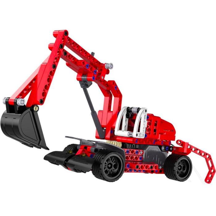 Игрушка конструктор EvoPlay Excavator (CB-104C)3D пазлы и конструкторы<br>Игрушка конструктор Evoplay CB104C Excavator (235 дет)<br><br>Цвет: Красный<br>Материал: Пластик