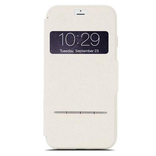 Чехол Moshi SenseCover для iPhone 7, iPhone 8 бежевыйЧехлы для iPhone 7<br>Moshi SenseCover — безупречное слияние защиты и свежих инженерных идей. Чехол-книжка с сенсорным покрытием позволяет использовать многие функции...<br><br>Цвет товара: Бежевый<br>Материал: Поликарбонат, полиуретановая кожа