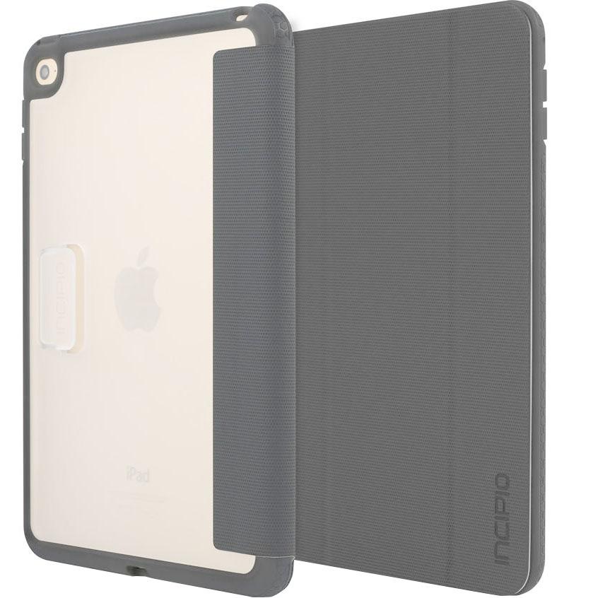 Чехол Incipio Octane Folio для iPad mini 4 серыйЧехлы для iPad mini 4<br>Incipio Octane Folio несомненно добавит вашему планшету элегантности и стиля.<br><br>Цвет товара: Серый<br>Материал: Эко-кожа, пластик, полиуретан