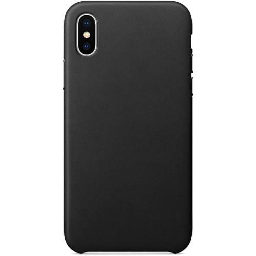 Кожаный чехол YablukCase для iPhone X чёрныйЧехлы для iPhone X<br>Надёжный и легкий YablukCase — это лаконичный и стильный аксессуар для вашего iPhone!<br><br>Цвет товара: Чёрный<br>Материал: Экокожа, пластик