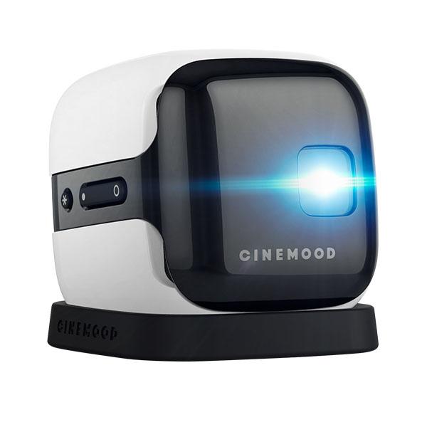 Мини-проектор CINEMOOD StorytellerВидеопроекторы<br>CINEMOOD Storyteller отлично подойдёт для семейных вечеров, детских праздников и отдыха на природе!<br><br>Цвет товара: Белый<br>Материал: Пластик, силикон