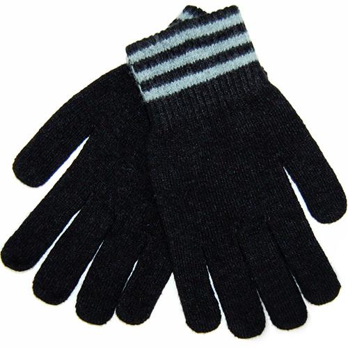 Перчатки шерстяные iGloves (v4) для iPhone/iPod/iPad/etc чёрные с серыми полосками (Размер M)Перчатки для экрана<br>Перчатки iGloves  — отличный подарок на Новый Год!<br><br>Цвет товара: Чёрный<br>Материал: Овечья шерсть<br>Модификация: M