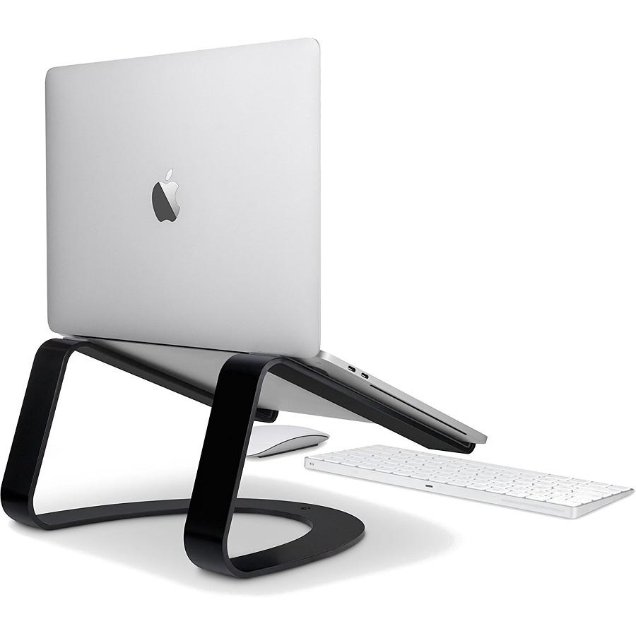 Подставка Twelve South Curve для MacBook чёрнаяПодставки для Mac<br>Twelve South Curve — элегантная подставка их литого алюминия, которая дополнит дизайн вашего MacBook.<br><br>Цвет товара: Чёрный<br>Материал: Алюминий, резина