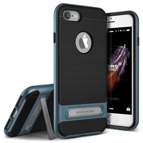 Чехол Verus High Pro Shield для iPhone 7 (Айфон 7) синий (VRIP7-HPSBB)Чехлы для iPhone 7<br>Чехол Verus для iPhone 7  High Pro Shield, стальной голубой (904606)<br><br>Цвет товара: Синий<br>Материал: Поликарбонат, полиуретан