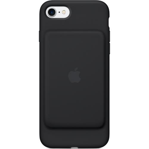 Чехол-аккумулятор Apple Smart Battery Case для iPhone 7 (Айфон 7) чёрныйЧехлы для iPhone 7<br>«Умный» чехол Apple Smart Battery Case создан специально для защиты и резервного питания вашего iPhone 7.<br><br>Цвет товара: Чёрный<br>Материал: Силикон